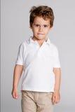 Πορτρέτο στούντιο αγοριών μικρών παιδιών Στοκ φωτογραφίες με δικαίωμα ελεύθερης χρήσης