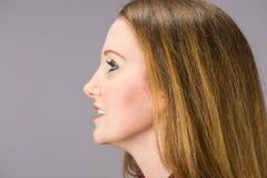 Πορτρέτο στούντιο της Christy Devoe στοκ φωτογραφία