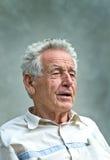 Πορτρέτο συνταξιούχων Στοκ Εικόνα