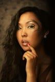 Πορτρέτο της ασιατικής γυναίκας Στοκ Εικόνα