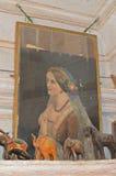 Πορτρέτο της βασίλισσας Victoria στο haveli, Jaisalmer Στοκ Φωτογραφία