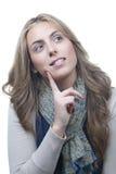 Πορτρέτο της γυναίκας Στοκ Φωτογραφία
