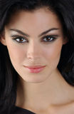 Πορτρέτο της γυναίκας brunette Στοκ φωτογραφίες με δικαίωμα ελεύθερης χρήσης