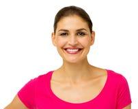 Πορτρέτο της ευτυχούς μέσης ενήλικης γυναίκας στοκ φωτογραφία με δικαίωμα ελεύθερης χρήσης