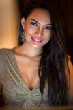 Πορτρέτο της ελκυστικής ασιατικής γυναίκας στοκ φωτογραφία με δικαίωμα ελεύθερης χρήσης