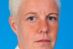 Πορτρέτο της ισχυρής γυναίκας Στοκ Εικόνες