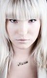 πορτρέτο της Μαρίας μόδας Στοκ εικόνα με δικαίωμα ελεύθερης χρήσης
