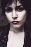Πορτρέτο της μόνης γυναίκας Στοκ εικόνες με δικαίωμα ελεύθερης χρήσης