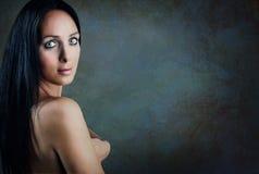 Πορτρέτο της νέας γυναίκας Στοκ Εικόνα