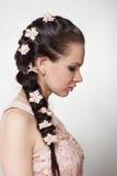 Πορτρέτο της νέας γυναίκας Στοκ εικόνες με δικαίωμα ελεύθερης χρήσης