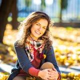 Πορτρέτο της νέας όμορφης γυναίκας Στοκ εικόνες με δικαίωμα ελεύθερης χρήσης