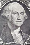 Πορτρέτο της Ουάσιγκτον George στο λογαριασμό δολαρίων Στοκ εικόνες με δικαίωμα ελεύθερης χρήσης