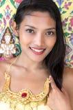 Πορτρέτο της ταϊλανδικής κυρίας στοκ φωτογραφία