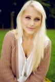 Πορτρέτο της φυσικής ομορφιάς στο πάρκο Στοκ φωτογραφία με δικαίωμα ελεύθερης χρήσης