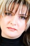 Πορτρέτο της όμορφης γυναίκας Στοκ εικόνες με δικαίωμα ελεύθερης χρήσης