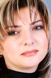Πορτρέτο της όμορφης γυναίκας Στοκ φωτογραφίες με δικαίωμα ελεύθερης χρήσης