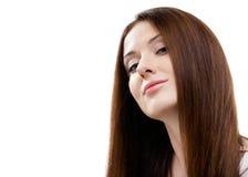 Πορτρέτο της όμορφης γυναίκας στοκ εικόνα με δικαίωμα ελεύθερης χρήσης