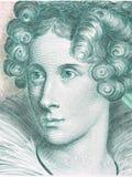 Πορτρέτο της Annette von Droste-Hulshoff Στοκ εικόνα με δικαίωμα ελεύθερης χρήσης