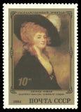 Πορτρέτο της Harriet Greer από το George Ρόμνεϊ Στοκ Φωτογραφίες