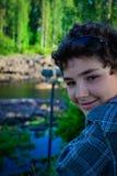 Πορτρέτο του αγοριού Στοκ φωτογραφίες με δικαίωμα ελεύθερης χρήσης
