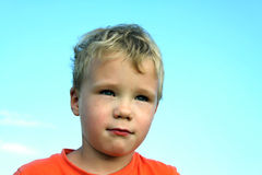 Πορτρέτο του αγοριού Στοκ εικόνες με δικαίωμα ελεύθερης χρήσης