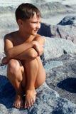Πορτρέτο του αγοριού Στοκ εικόνα με δικαίωμα ελεύθερης χρήσης