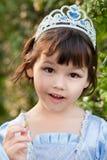 Πορτρέτο του ασιατικού κοριτσιού στο κοστούμι πριγκηπισσών Στοκ εικόνα με δικαίωμα ελεύθερης χρήσης