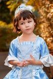 Πορτρέτο του ασιατικού κοριτσιού στο κοστούμι πριγκηπισσών Στοκ εικόνες με δικαίωμα ελεύθερης χρήσης