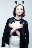Πορτρέτο του αστικού fashionista βράχου Στοκ Εικόνες