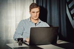 Πορτρέτο του ατόμου που εργάζεται στο Υπουργείο Εσωτερικών στοκ φωτογραφία