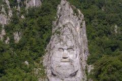 Πορτρέτο του βασιλιά Decebalus στοκ φωτογραφίες
