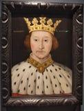 Πορτρέτο του βασιλιά Richard ΙΙ στοκ εικόνα