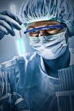Πορτρέτο του επιστήμονα Στοκ εικόνα με δικαίωμα ελεύθερης χρήσης