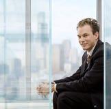 Πορτρέτο του επιχειρηματία Στοκ φωτογραφία με δικαίωμα ελεύθερης χρήσης
