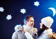 Ρομαντικό βράδυ Στοκ Εικόνα