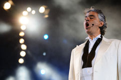Andrea Bocelli Στοκ Εικόνες