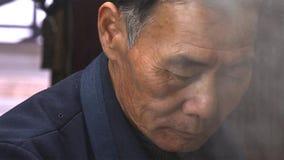 Πορτρέτο του κινεζικού ηληκιωμένου yunnan Κίνα στοκ εικόνες με δικαίωμα ελεύθερης χρήσης