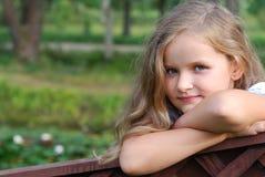 Πορτρέτο του κοριτσιού Στοκ Εικόνες