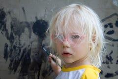 Πορτρέτο του κοριτσιού Στοκ εικόνες με δικαίωμα ελεύθερης χρήσης