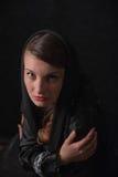 Πορτρέτο του κοριτσιού brunette Στοκ φωτογραφία με δικαίωμα ελεύθερης χρήσης