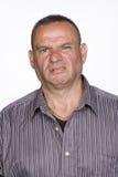 Πορτρέτο του μέσου ενήλικου αρσενικού με Repugnant Expressi στοκ εικόνες