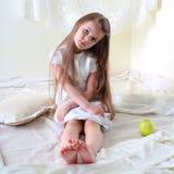 Πορτρέτο του μικρού κοριτσιού Στοκ Εικόνα