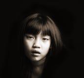 Πορτρέτο του μικρού κοριτσιού στοκ εικόνα με δικαίωμα ελεύθερης χρήσης