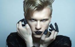 Πορτρέτο του μοντέλου γυναικών μόδας Στοκ Εικόνες