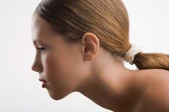 Πορτρέτο του νέου κοριτσιού Στοκ Φωτογραφία