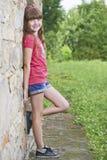 Πορτρέτο του νέου κοριτσιού Στοκ φωτογραφία με δικαίωμα ελεύθερης χρήσης