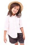 Πορτρέτο του νέου μικρού κοριτσιού Στοκ φωτογραφία με δικαίωμα ελεύθερης χρήσης