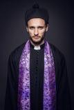 Πορτρέτο του νέου πάστορα Στοκ Φωτογραφία