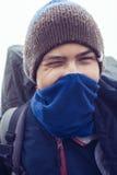Πορτρέτο του νέου ταξιδιώτη, έφηβος Στοκ εικόνα με δικαίωμα ελεύθερης χρήσης