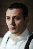Πορτρέτο του νεόνυμφου στο στούντιο Στοκ εικόνες με δικαίωμα ελεύθερης χρήσης